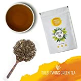 #9: Danta Herbs Tulsi Twins Green Tea 100g (40 Cups) | No Artificial Flavours | Raw Ingredients - Peace & Harmony and Defend & Protect with Tulsi and Green Tea| Delivering Pluck-To-Cup Experience From Source.
