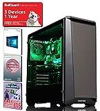 ADMI GAMING PC: AMD FX-8300 8 Core 4.2GHz CPU, GTX 1050 Ti 4GB Graphics Card, 8GB 1600MHz RAM, Seagate 2TB, Phanteks P400S, WiFi , Windows 10