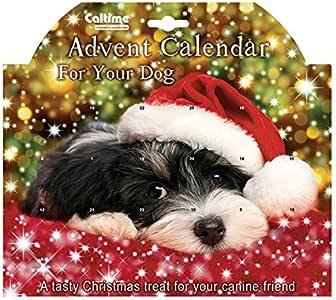 Weihnachten Caltime Haustier Adventskalender mit Tasty Leckerbissen