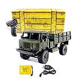 MODELTRONIC Camión Radio Control Militar Ruso GAZ-66 4x4 Crawler...