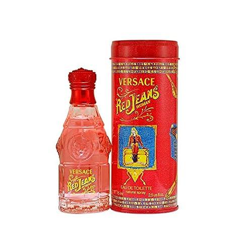 Versace Red Jeans femme/woman, Eau de Toilette, Vaporisateur / Spray, 75 ml
