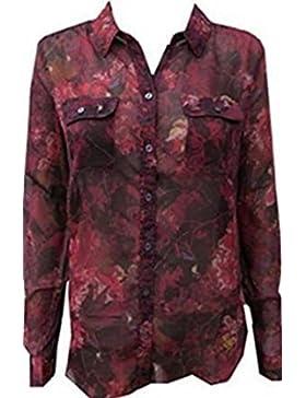 Bluse mit floralem Muster von Eddie Bauer