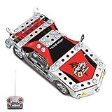 Kbrainpz Sport Racing Car Modell aus Metall Ziegelstein DIY Bausteine ??mit Radio-Fernbedienung