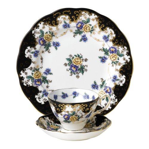 Royal Albert 1910Duchess 3-teiliges Set, Mehrfarbig China Plate Set