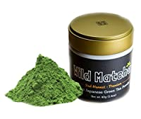 Organic Matcha Green Tea From Japan, Wild Matcha, Ceremonial Grade, JAS Organic (40 gram - 2nd Harvest Premium)