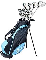 Palm Springs Golf Visa V2 Complete Set de Golf Femme Droitiers Tout en Graphite