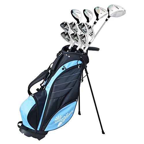 Preisvergleich Produktbild Palm Springs Golf Visa V2 Complete Set Golf Damen Rechtshänder Alles in graphit