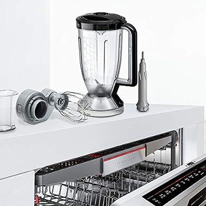 Bosch-MC812M865-MultiTalent-Kompakt-Kchenmaschine-1250-W-XXL-Rhrschssel-39-l-Wrfelschneider-schwarzEdelstahl-gebrstet