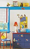 RoomMates Childrens Repositonable Wall Stickers, Curious George
