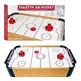 Global Gizmos Tabletop Air Hockey 80330