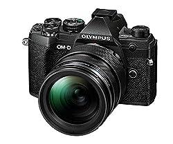 Olympus OM-D E-M5 Mark III Micro Four Thirds Systemkamera Kit, 20 MP Sensor, 5-Achsen Bildstabilisator, leistungsstarker Autofokus, 4K-Video, WLAN, schwarz inkl. 12-40mm M.Zuiko PRO Objektiv
