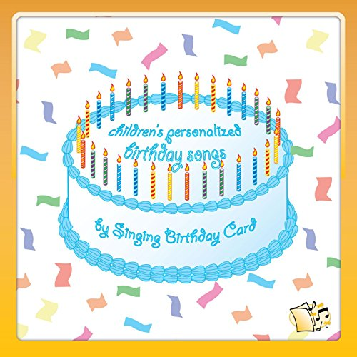 Happy Birthday Ethan Childrens Von Singing Birthday Card Bei