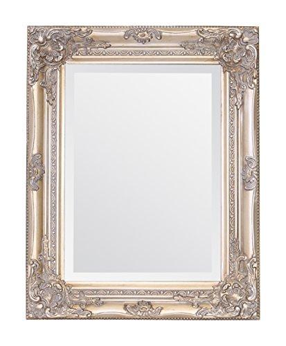 Select Mirrors Rhone - Espejo pequeño de pared de estilo barroco antiguo - Diseño francés vintage...