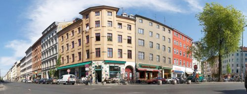 Berlintapete - Wallpaper On Demand - Fototapete - Reportage - Berlin - Cafes An Der Ecke Oranienstrasse - Mariannenstrasse Nr. 6673