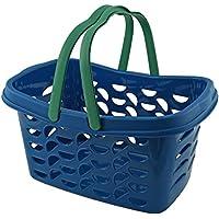 GIES 7041Ecoline de Cesta de la Compra con 2Asas Aprox. 18l, plástico, Azul, 475x 300x 240cm