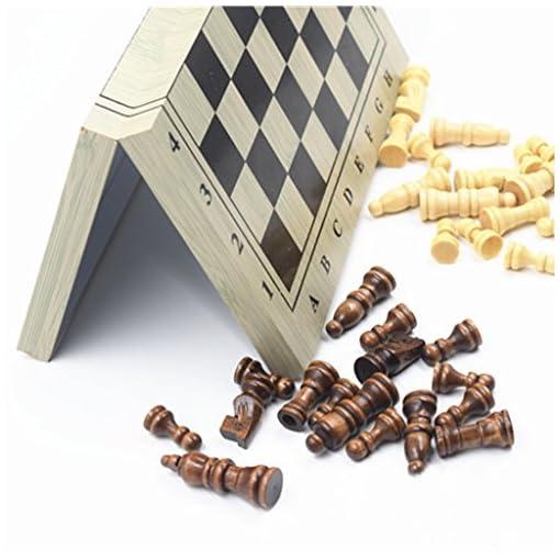 Soccik-Schachspiel-Schach-Hlzernes-Schach-Brettspiel-Holz-Schachspiel-mit-Magnetisch-Faltbarem-Schachbrett-Chess-Set-Fr-Camping