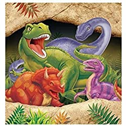 Dino Blast Plastic Tablecover by Creative Party
