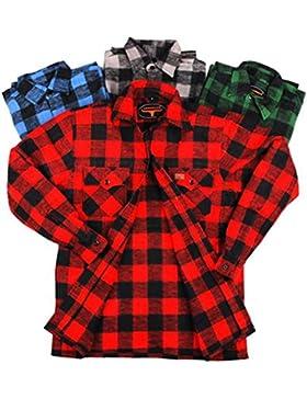 Camicia da boscaiolo 100% cotone