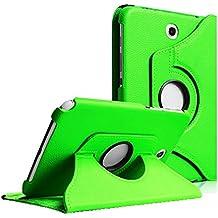 COOVY® SMART FUNDA 360º GRADOS ROTACIÓN PARA SAMSUNG GALAXY NOTE 8.0 GT-N5100 GT-N5110 COVER CASE PROTECTORA SOPORTE color verde