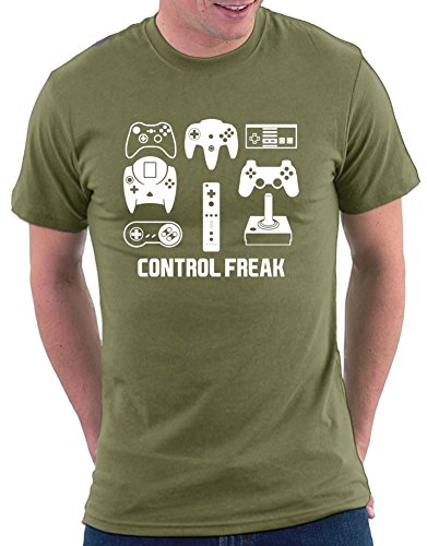 Control Freak T-shirt Khaki