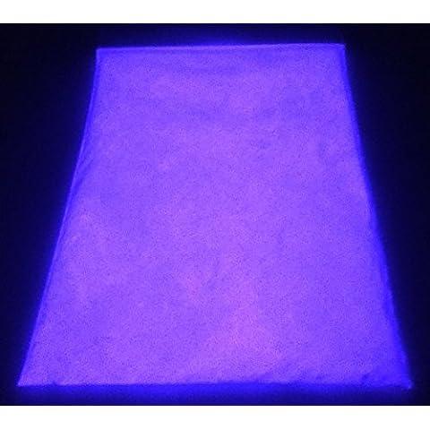 Eli-Glow - Polvere di pigmento luminescente, altissimo grado di stronzio alluminato, colore: viola, 100 (Acqua In Cemento)