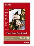 Canon Photo Paper Plus Glossy II PP-201 / 2311B021 / DIN A3+ / 260 g/m² hochglänzend