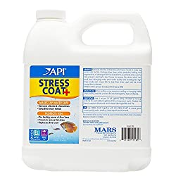 API Stress Coat Aquarium Water Conditioner, 1.9 Liter Bottle