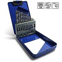 S&R punte trapano per metallo impostato 13 pezzi, 1,5 -