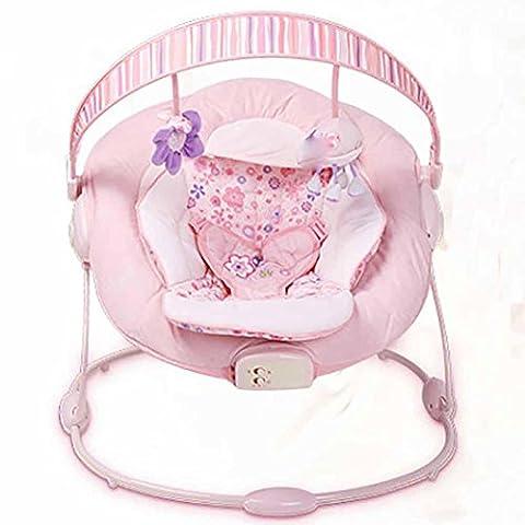 GUO Bébé chaise berçante inclinable à bascule appease musique vibration secoueur berceau bébé