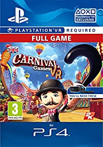Carnival Games VR [PS4 PSVR PSN Code - UK account] by Rockstar Games