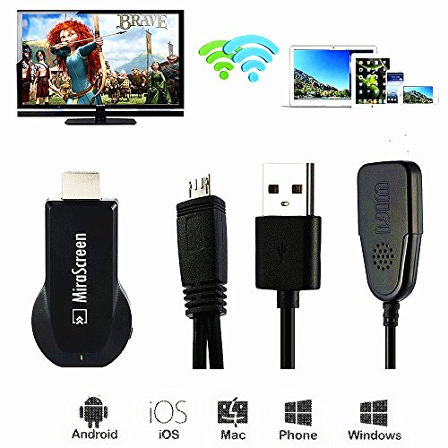 WiFi Display Dongle MiraScreen 2 4G Wireless Full HDMI 1080P TV Stick Receiver Media Adapter Converter Suppport Miracast Airplay DLNA for iOS   Android   Windows   Mac