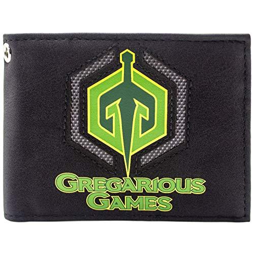 Ready Player One Gregarious Games Logo Schwarz Portemonnaie - Xbox Kostüm Quest