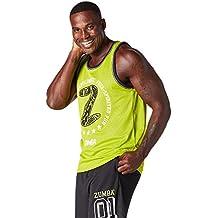 Zumba Fitness Hombre Free Jersey Top, todo el año, hombre, color Zumba Green, tamaño small
