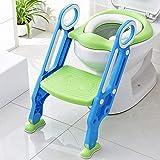 KEPLIN Siège de Toilette Enfant Pliable et Réglable, Reducteur de Toilette Bébé...