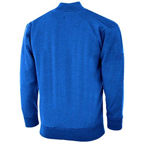 Callaway Herren Merino Mix Windstopper Pullover Magnetic Blue