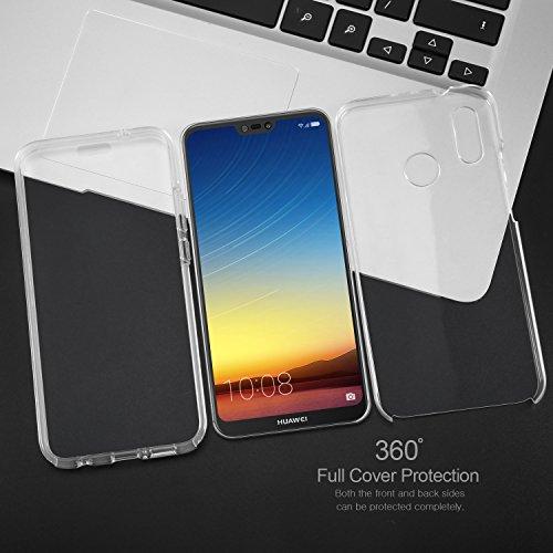 Cover custodia protettiva TPU trasparente Fronte e Retro per Apple