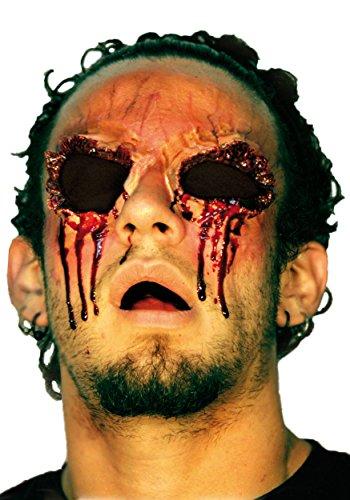 Falsche Wunde Ohne Augen für Erwachsene (Makeup Prosthetics Halloween)