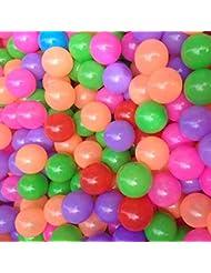 20 Pcs Colorful Plastic Ocean Boule bŽbŽ Enfants Jouets Swim Pit