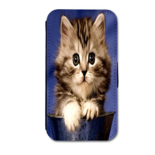 Book Style Flip Handy Tasche Case Schutz Hülle Schale Motiv Etui für Apple iPhone 4 / 4S - A11 Design28 Design 14