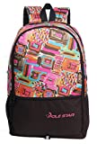 POLE STAR 32 Liters Pink & Brown Casual Backpack