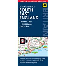 Road Map Britain 03 South East England 1 : 200 000