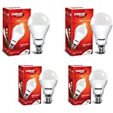 Eveready Base B22 14W Pack Of 2 With 9W Pack Of 2 LED Bulb Combo