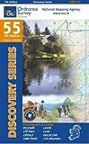 Ordnance Survey Irland Blatt 55 1:50 000 (Irish Discovery, Band 55)