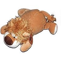 Preisvergleich für Kuscheltier Plüsch Löwe liegend braun Tender Toys Wild Life 40cm