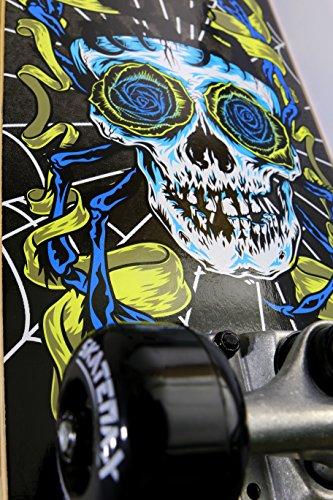 Zoom IMG-1 skateboard skate max mod skull
