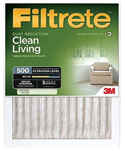 3M 501dc-6Staub Reduzierung Ofen Filter, 16x 25x 1-in, muss in Mengen von 6 -