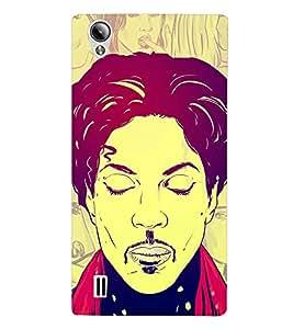HiFi Designer Phone Back Case Cover Vivo Y15S :: Vivo Y15 ( Hip Hop Classic Art Style Guy )