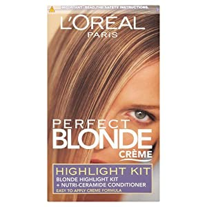 L'Oreal Paris Perfect Creme Highlight Kit, Blonde - Pack of 3