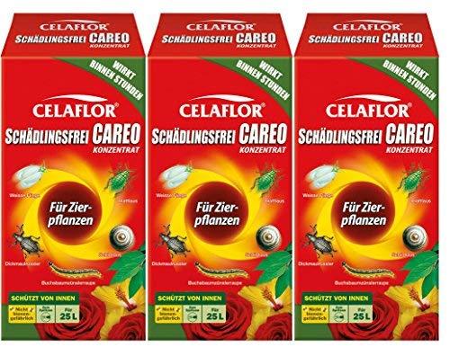 3 x 250 ml Celaflor Schädlingsfrei Careo Konzentrat