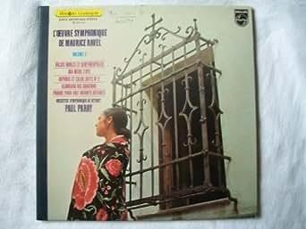 6513 011 Ravel L'Oeuvre Symphonique OSD Paray LP